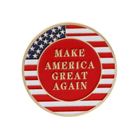 Commemorative Challenge Coin - Donald Trump - Make America Great Again