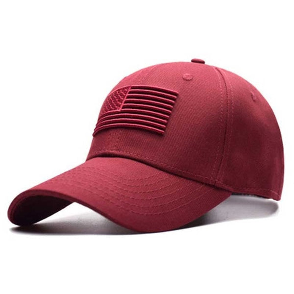 USA Flag Hat (Arizona Sunset Red)