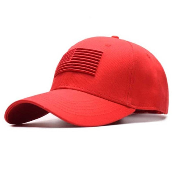 USA Flag Hat (Victory Red)