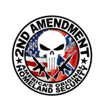 Second Amendment - America's Original Homeland Security Decal