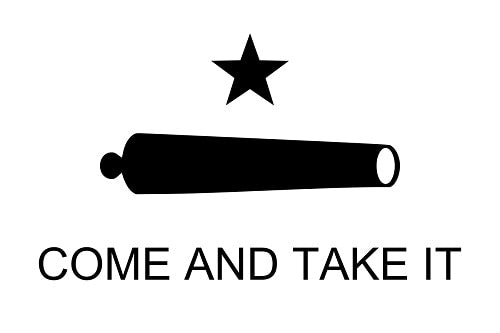 Battle of Gonzales Flag (1835) - Come and Take It