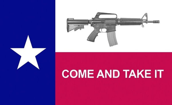 Come and Take It - Battle of Gonzales (1835) Style Texan Flag