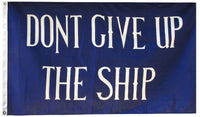 Commodore Perry - Dont Give Up The Ship Flag
