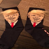 New Trump Socks - With Fun Hair