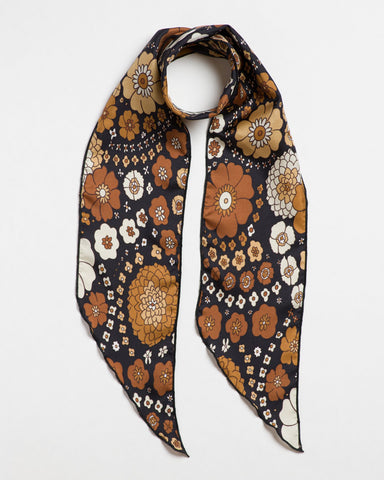 California Dreamin Long Scarf Tie
