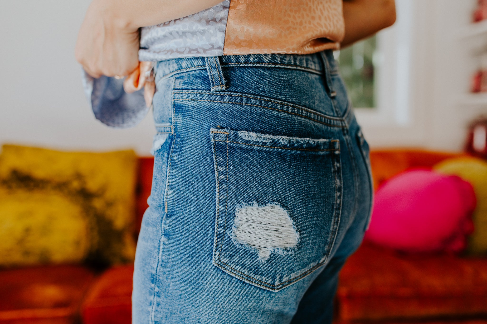 Let's Go Girl High Rise Jeans