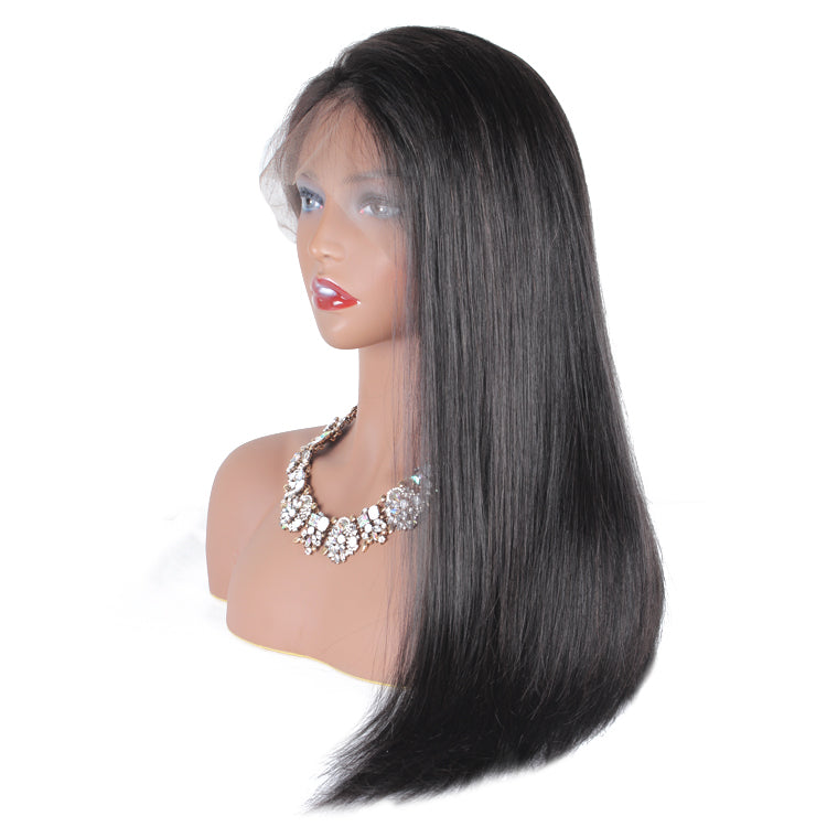 straight Lace frontal wig