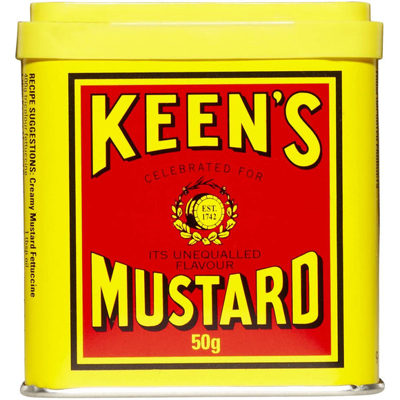 Keens Mustard Powder - tin 50g