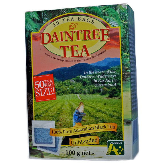 Daintree Tea Pure Australian Black Tea - 50 bags