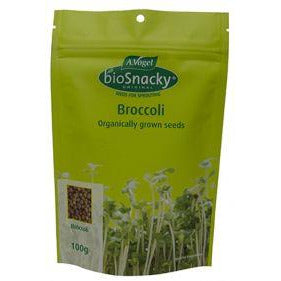 A.Vogel BioSnacky Organic Broccoli Seeds 100g