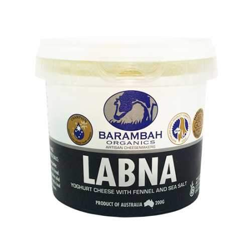 Barambah Organics Labna with Fennel & Sea Salt - 200g