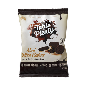 Table of Plenty Mini Rice Cakes - Dark Chocolate 60g