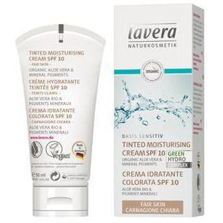 Lavera Basis Tinted Moisturiser SPF10 Fair 50ml