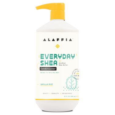 Alaffia Everyday Shea Butter Moisturising Vanilla Mint Conditioner 950ml