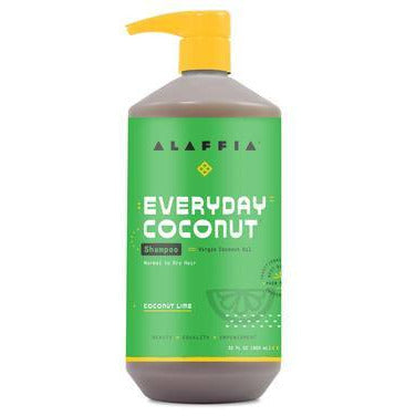Alaffia Coconut LIME Shampoo DRY - 950ml