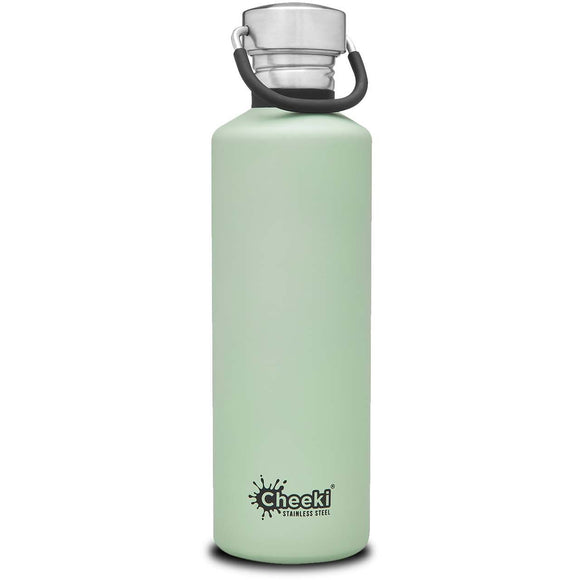 Cheeki Stainless Steel Drink Bottle - Pistachio 750ml