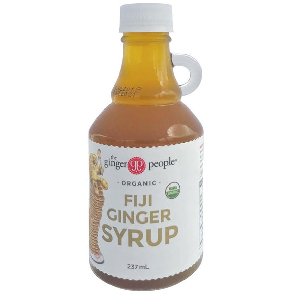 The Ginger People Fiji Organic Ginger Syrup 237ml