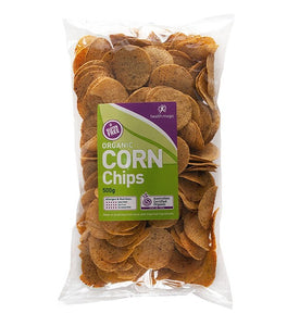 Organic Corn Chips (CONTAINS SUNFLOWER OIL) 500g