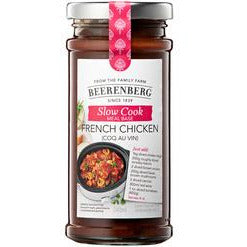 Beerenberg French Chicken Coq Au Vin Slow Cook Sauce 240ml