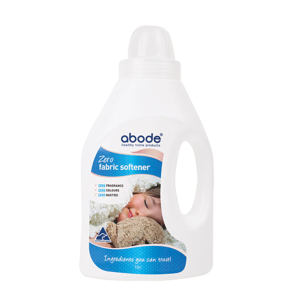 Abode Natural Fabric Softener Zero (Fragrance Free) 1L