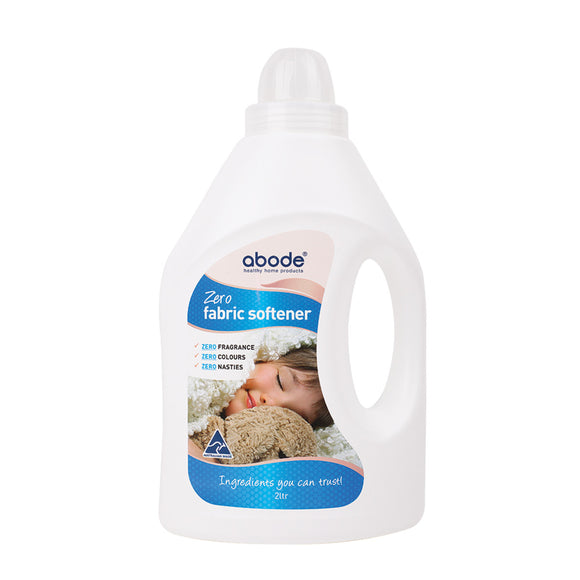 Abode Natural Fabric Softener Zero (Fragrance Free) 2L