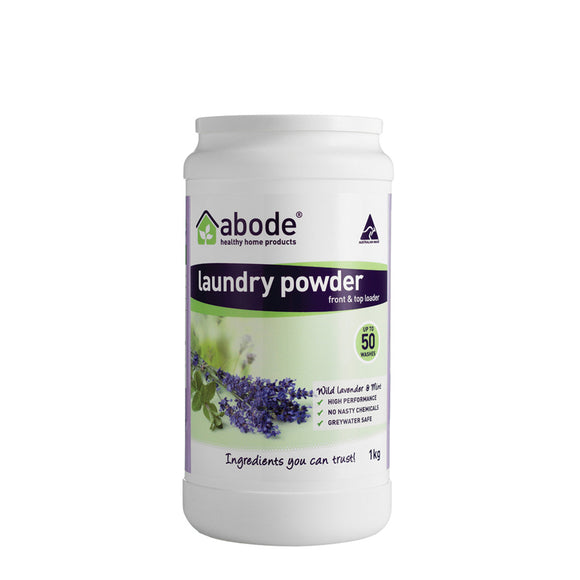 Abode Natural Laundry Lavender & Mint 1kg