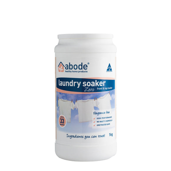 Abode Natural Laundry Soaker High Performance ZERO (sensitive) 1kg