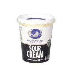 Barambah Organics Sour Cream 200ml