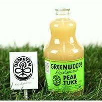 Greenwood Biodynamic 100% Pear Juice (glass bottle) 1L