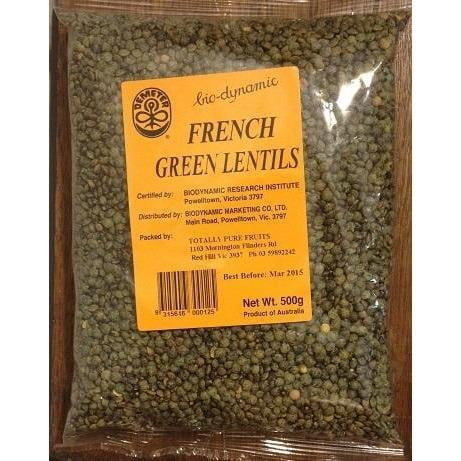 Barrum Biodynamics French Green Lentils 500g
