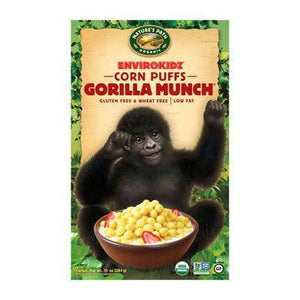 Nature's Path Envirokidz Organic Gorilla Much Corn Puffs 275g