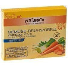 Naturata Organic Vegetable Stock Cube (No Yeast) 6x12g