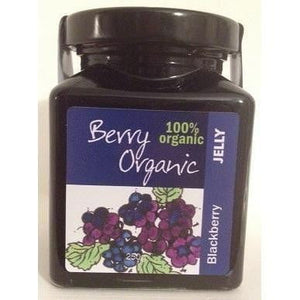 Berry Organic Blackberry Jelly Jam 250g