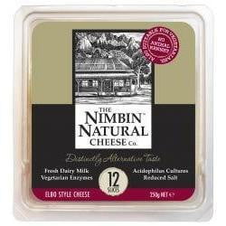 Nimbin Natural Cheese Sliced 250g