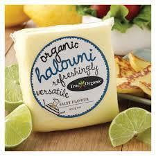 True Organic Haloumi Cheese 200g