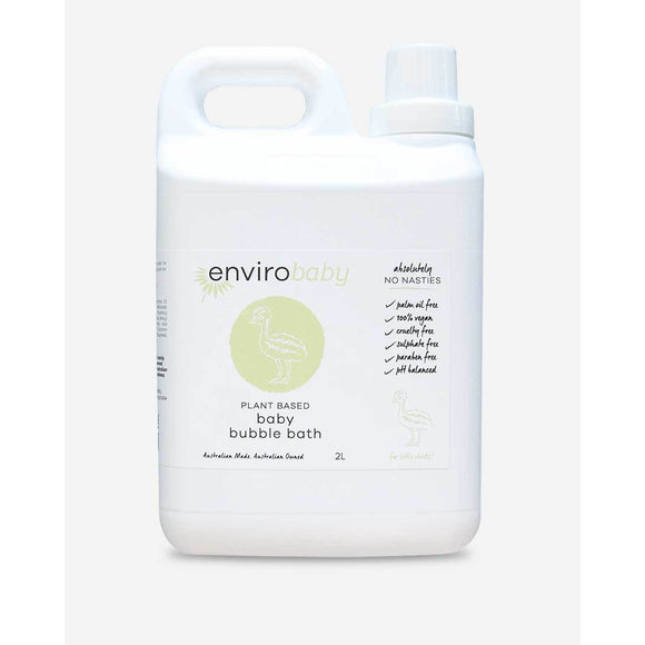 Enviro Care Plant Based Natural Bubble Bath baby 2L