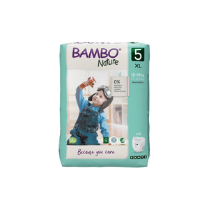 Bambo Nature Nappy Pull-up Pants Size 5 (XL) 12-18kg - x19