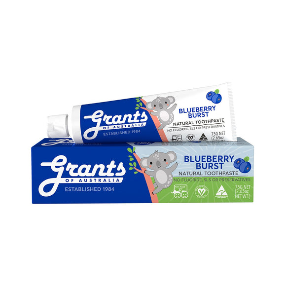 Grants Kids Natural Toothpaste Blueberry Burst - 75g
