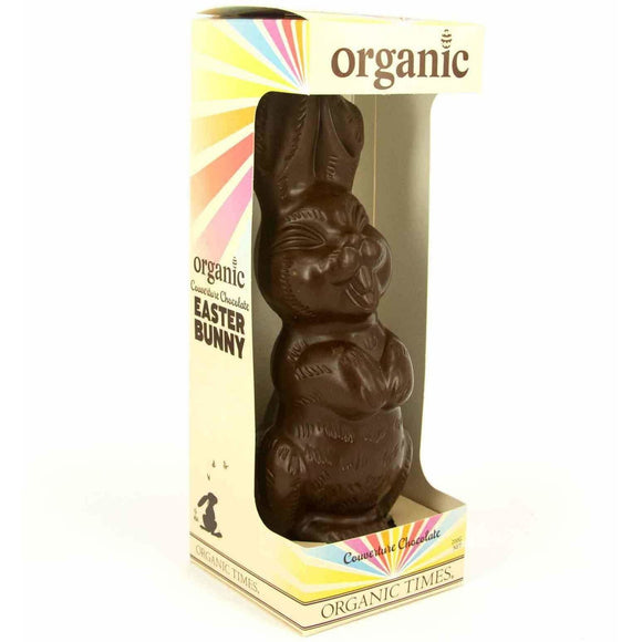 Organic Times Easter Bunny DARK 200g