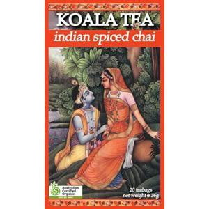 Koala Tea Organics Indian Spice Chai Tea 20
