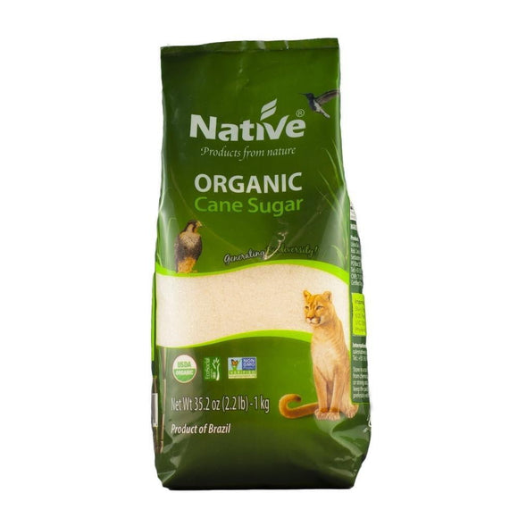 Native Organic Cane Sugar 1kg