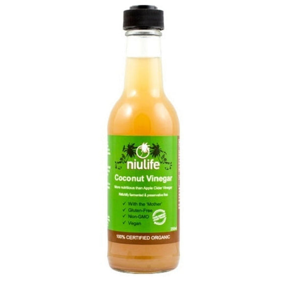 Niulife Organic Coconut Vinegar 250ml