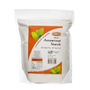 Pure Food Essentials Organic Arrowroot Starch 500g