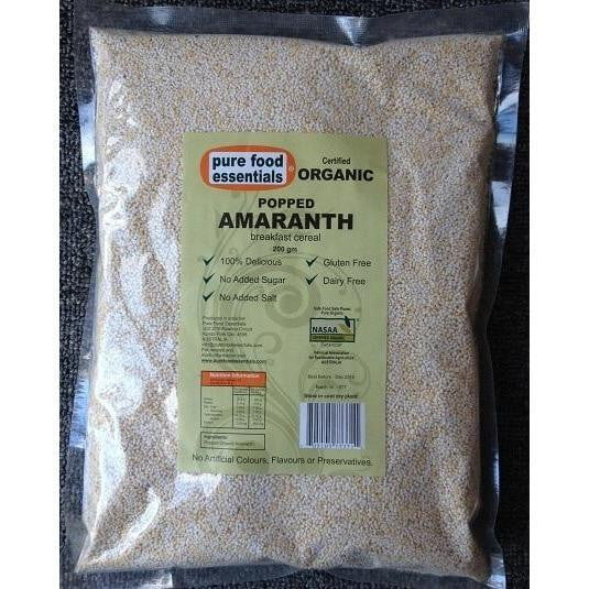 ** Pure Food Essentials Popped Amaranth 200g