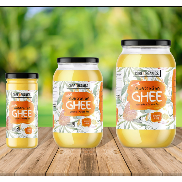 Core Organics Ghee - 500ml (450g)