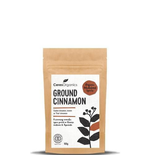 Ceres Organics Ground Cinnamon 100g