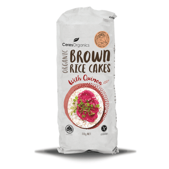 Ceres Organics Brown Jasmine with Quinoa Rice Cakes
