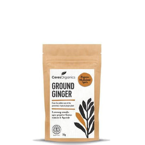 Ceres Organics Ground Ginger 70g