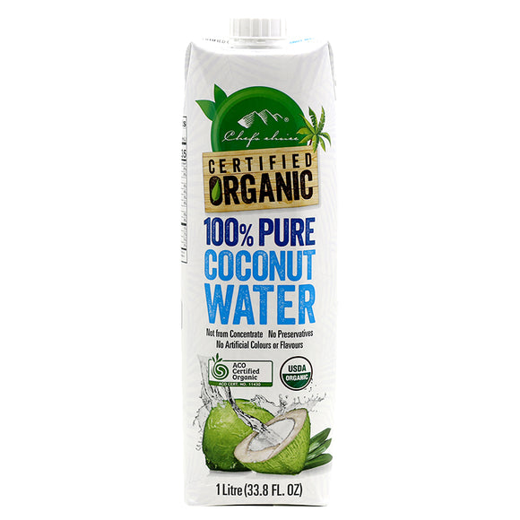 Chef's Choice Organic100% Pure Coconut Water - 1L