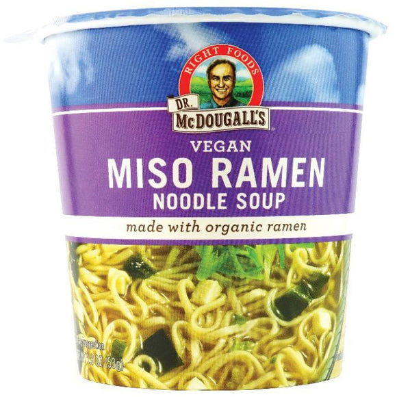 Dr McDougall's Big Cup Miso with Organic Noodles 54g